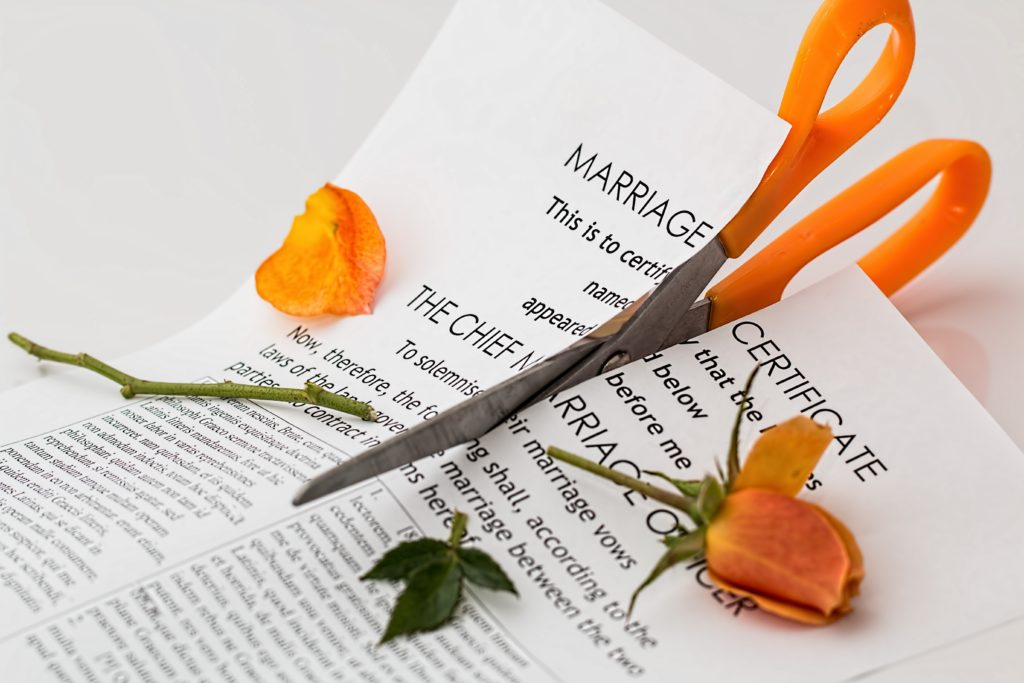The family law act's excluding funds paperwork with roses